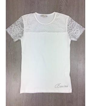 Шикарная трикотажная блузка для девочки .