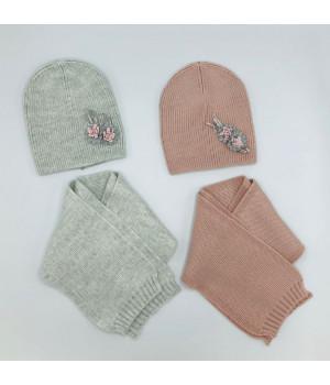 Модные шапки для девочки
