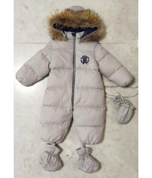Зимний комбинезон для новорожденных