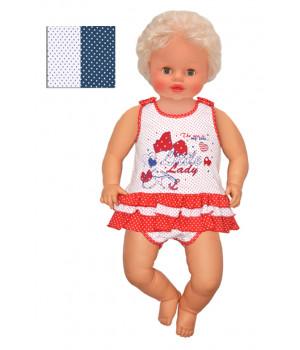 Боди с юбочкой для малышки