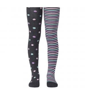 Колготки детские TIP-TOP (весёлые ножки) 14С-79СП, рис 508 темно-серый