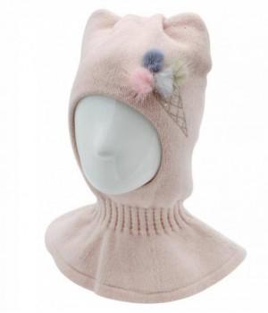 "Шапка-шлем для девочки ""Мороженка"""