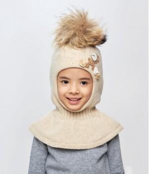 """Шапка-шлем для девочки """"Дарья"""""""